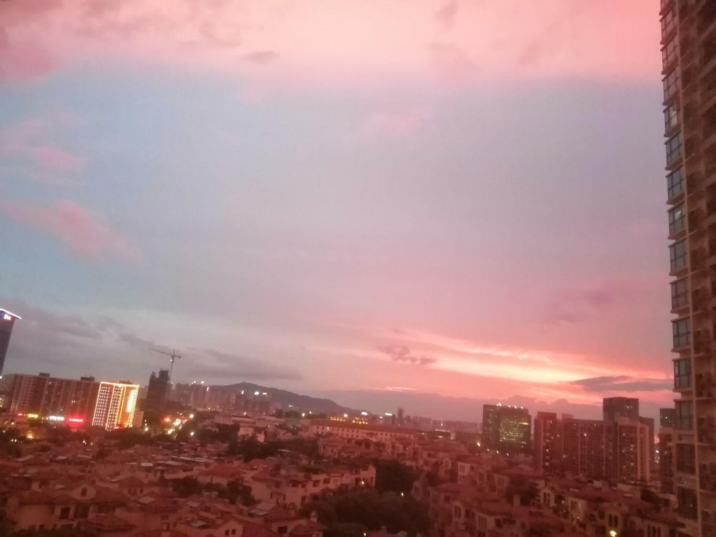 雨后天空红色,你见过吗_图1-1