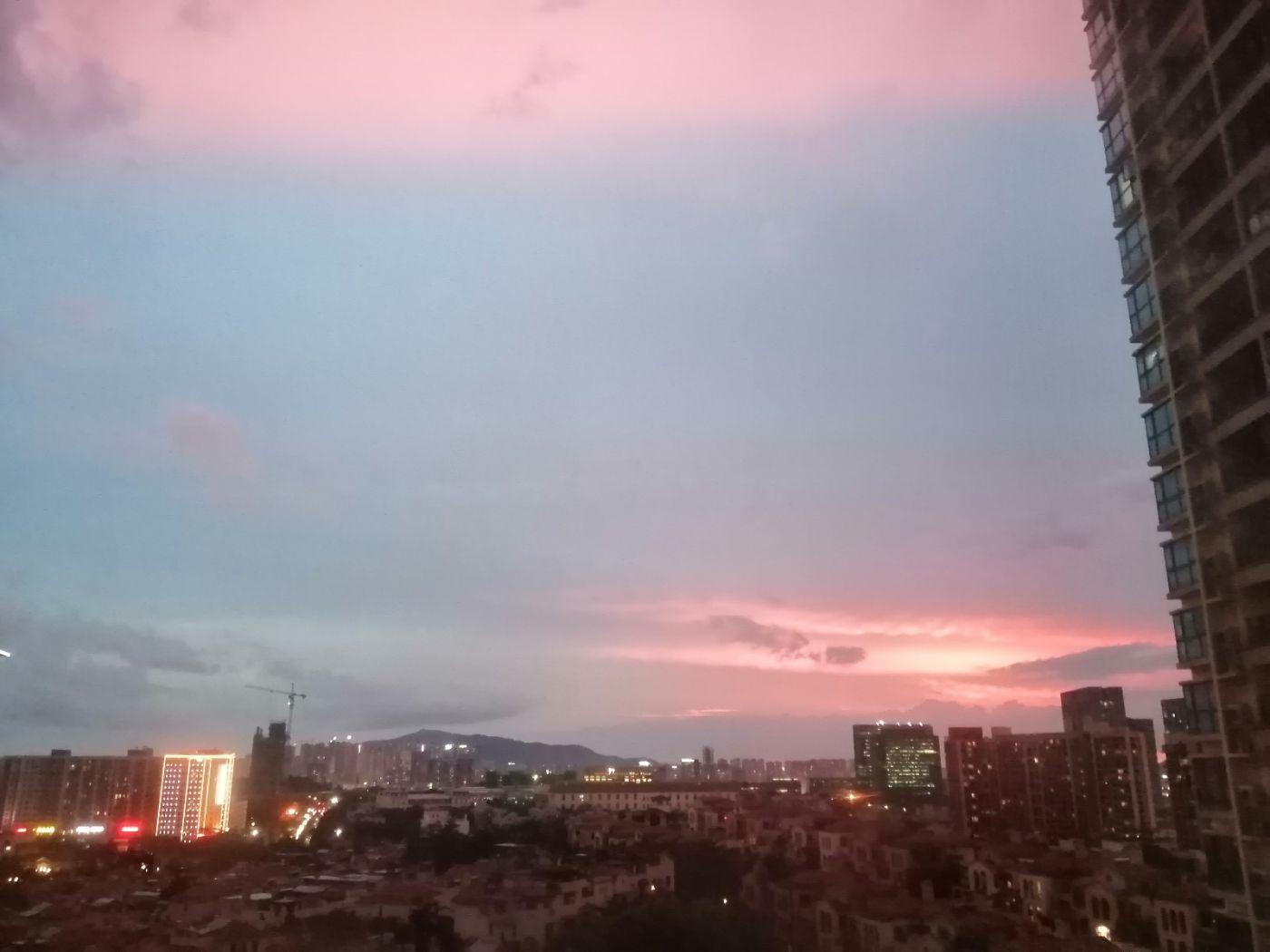 雨后天空红色,你见过吗_图1-2
