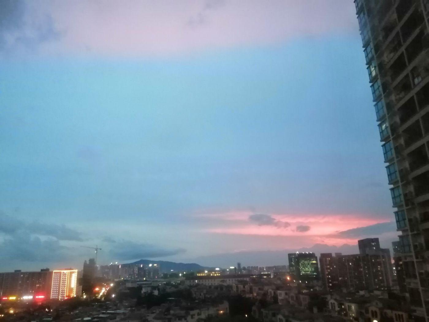 雨后天空红色,你见过吗_图1-3