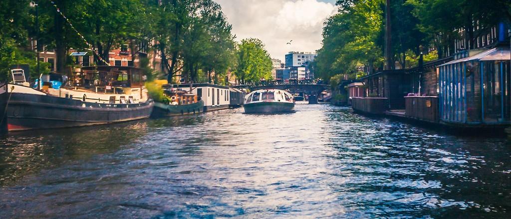 荷兰阿姆斯特丹,坐船游城_图1-40