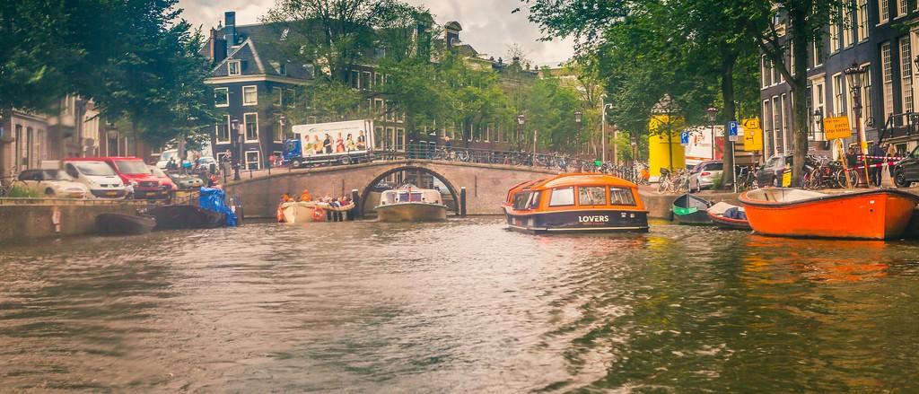 荷兰阿姆斯特丹,坐船游城_图1-31