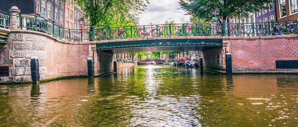 荷兰阿姆斯特丹,坐船游城_图1-38