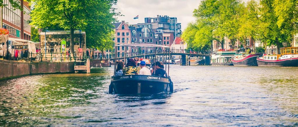 荷兰阿姆斯特丹,坐船游城_图1-34
