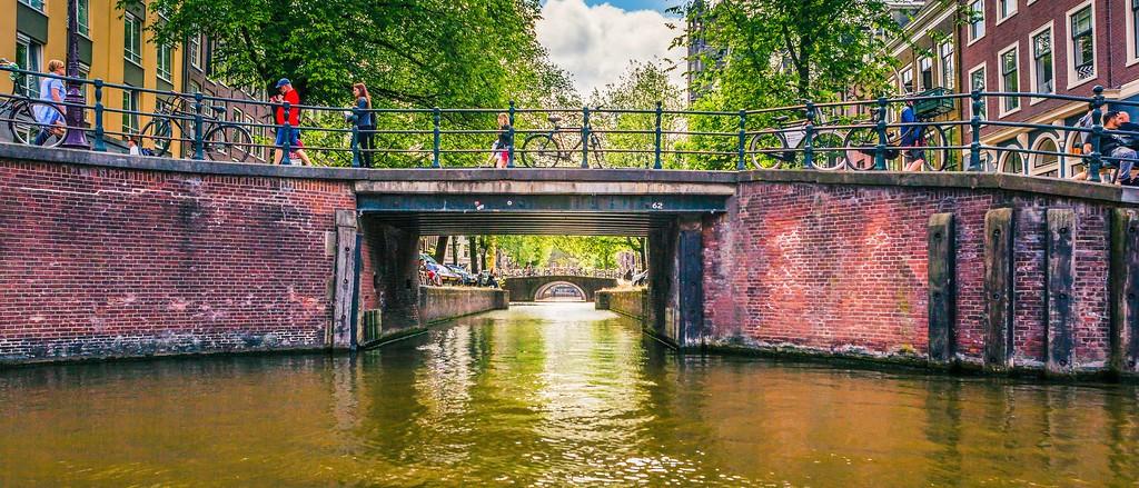 荷兰阿姆斯特丹,坐船游城_图1-39