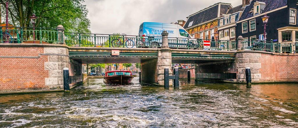荷兰阿姆斯特丹,坐船游城_图1-32