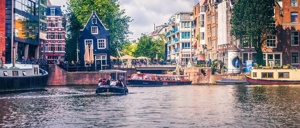 荷兰阿姆斯特丹,坐船游城_图1-35