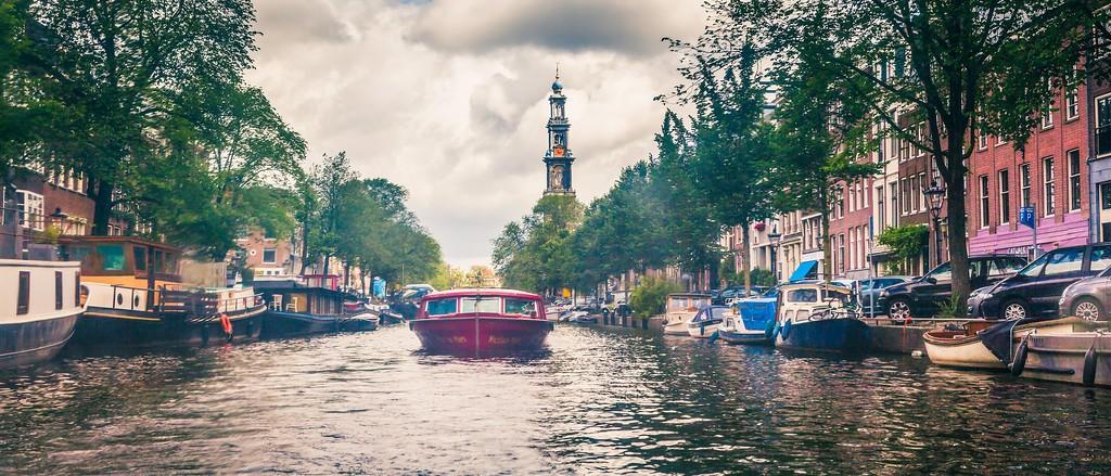 荷兰阿姆斯特丹,坐船游城_图1-37