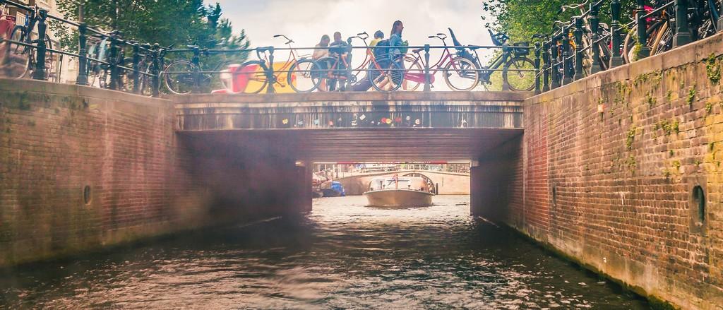 荷兰阿姆斯特丹,坐船游城_图1-33