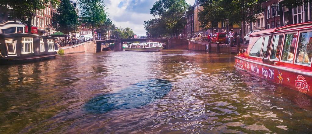 荷兰阿姆斯特丹,坐船游城_图1-36