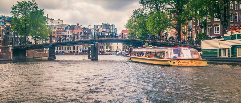 荷兰阿姆斯特丹,坐船游城_图1-30