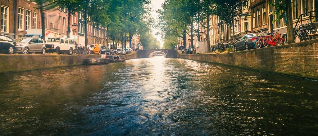 荷兰阿姆斯特丹,坐船游城_图1-29