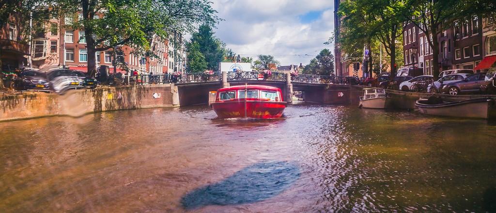 荷兰阿姆斯特丹,坐船游城_图1-28