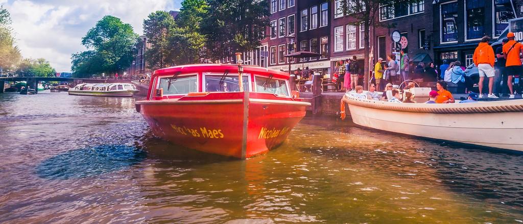 荷兰阿姆斯特丹,坐船游城_图1-26