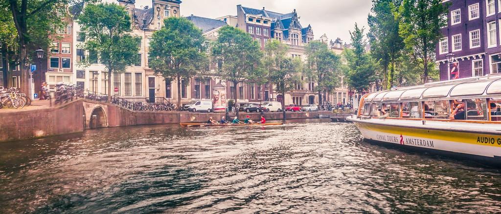 荷兰阿姆斯特丹,坐船游城_图1-27
