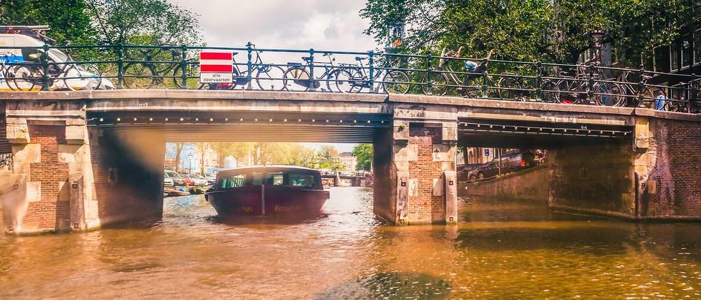 荷兰阿姆斯特丹,坐船游城_图1-25