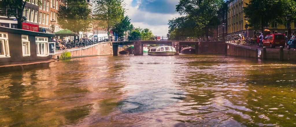 荷兰阿姆斯特丹,坐船游城_图1-24