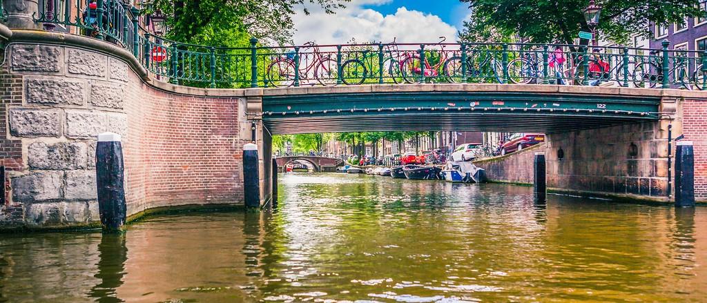 荷兰阿姆斯特丹,坐船游城_图1-23
