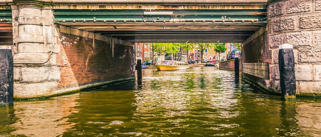 荷兰阿姆斯特丹,坐船游城_图1-22