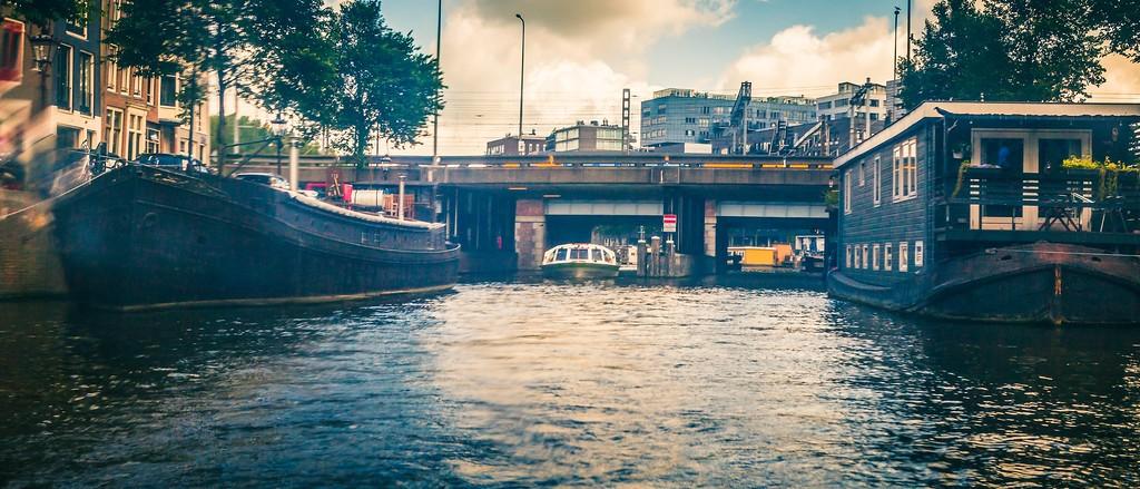 荷兰阿姆斯特丹,坐船游城_图1-21