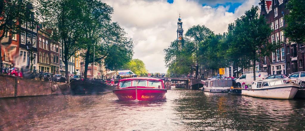 荷兰阿姆斯特丹,坐船游城_图1-1