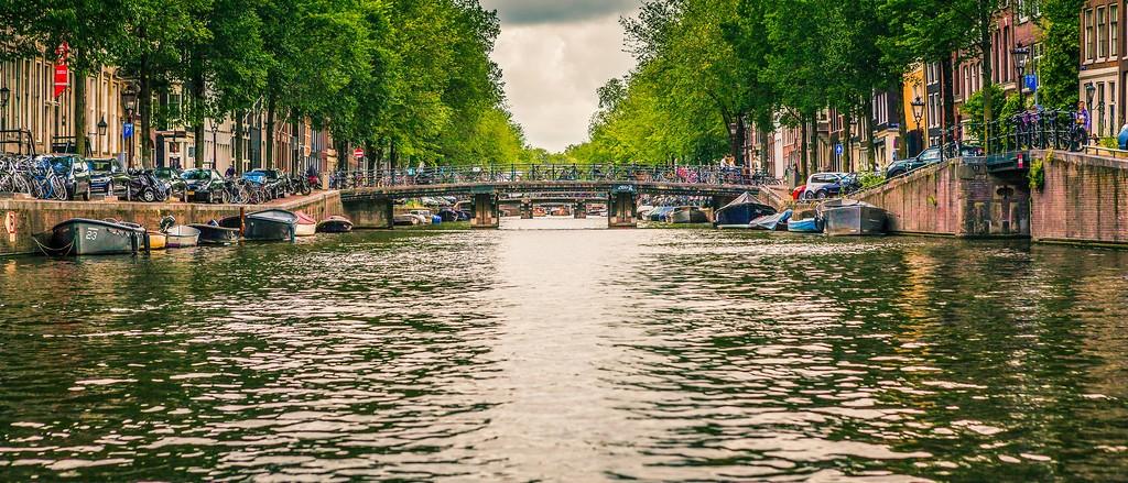 荷兰阿姆斯特丹,坐船游城_图1-3