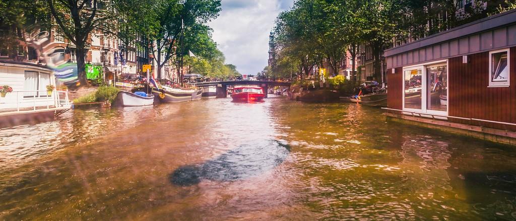 荷兰阿姆斯特丹,坐船游城_图1-4