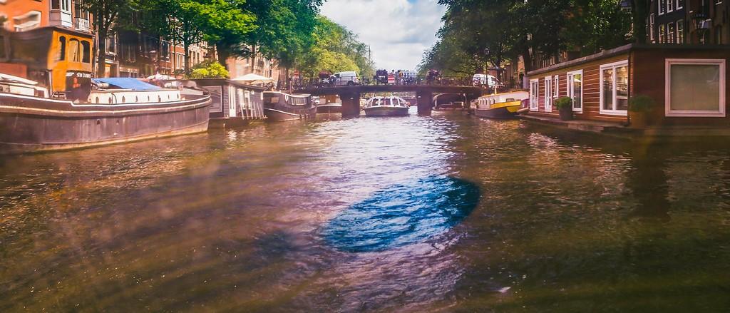 荷兰阿姆斯特丹,坐船游城_图1-8