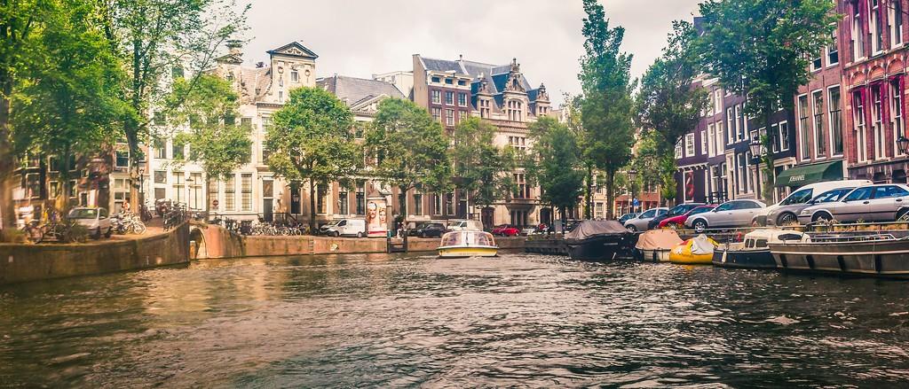 荷兰阿姆斯特丹,坐船游城_图1-7