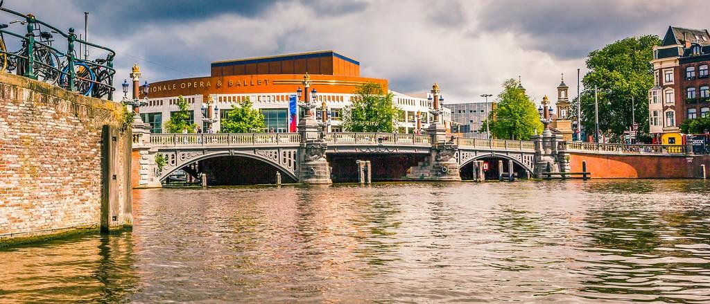 荷兰阿姆斯特丹,坐船游城_图1-9