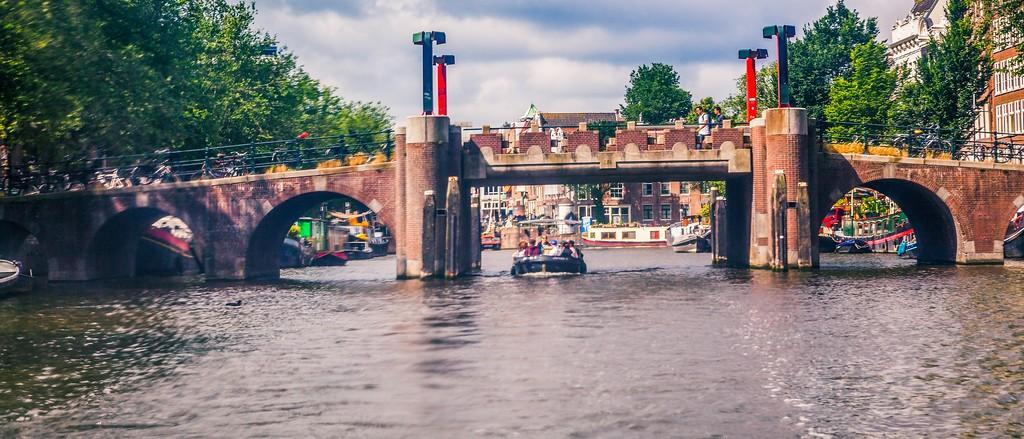 荷兰阿姆斯特丹,坐船游城_图1-11