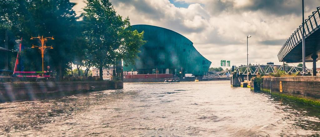 荷兰阿姆斯特丹,坐船游城_图1-10