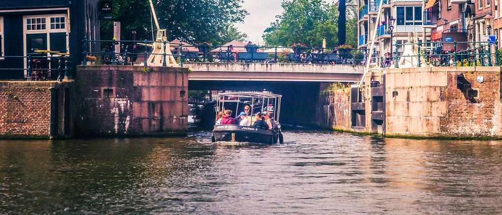 荷兰阿姆斯特丹,坐船游城_图1-5