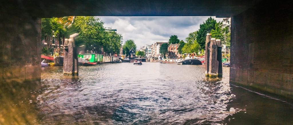 荷兰阿姆斯特丹,坐船游城_图1-16