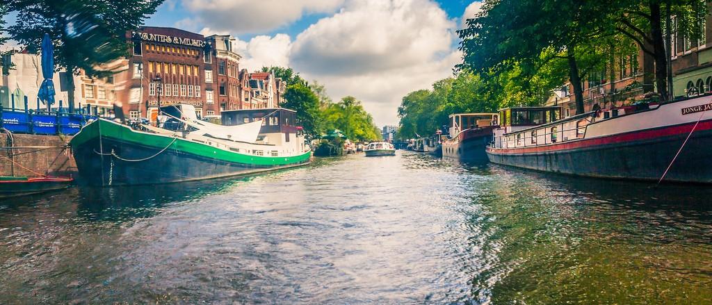 荷兰阿姆斯特丹,坐船游城_图1-19