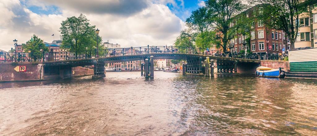 荷兰阿姆斯特丹,坐船游城_图1-18