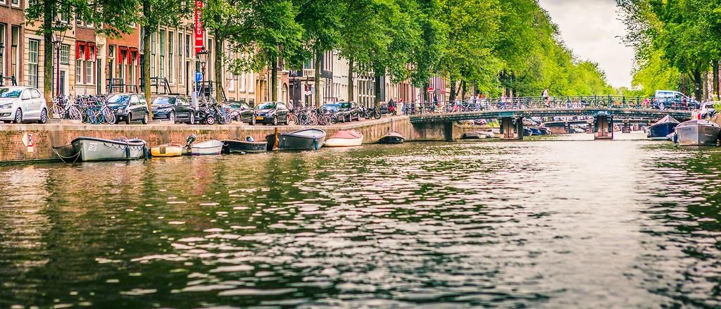 荷兰阿姆斯特丹,坐船游城_图1-20