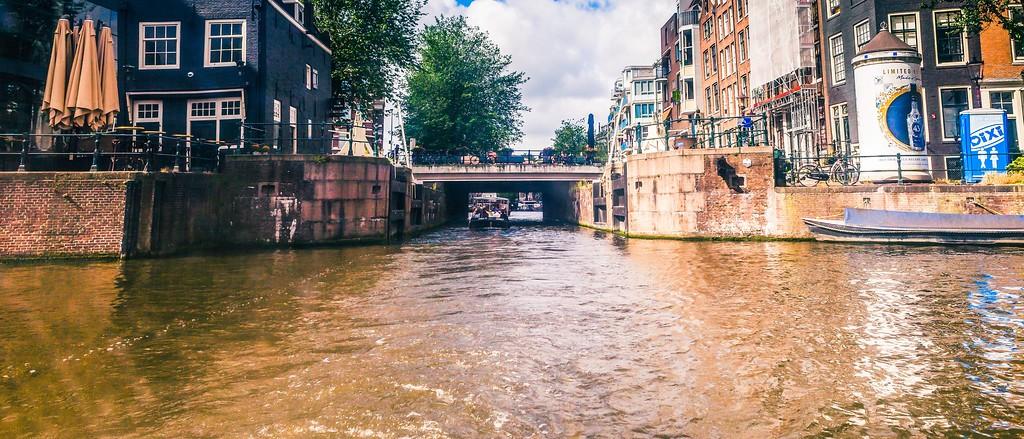 荷兰阿姆斯特丹,坐船游城_图1-15