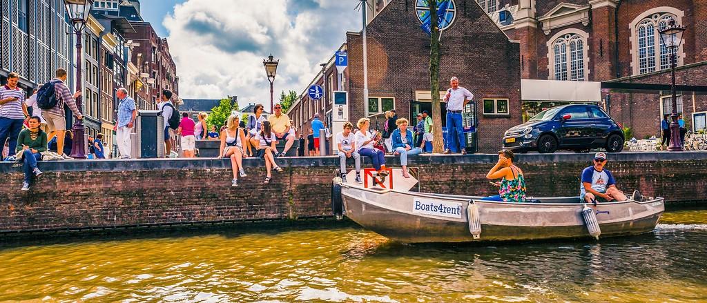 荷兰阿姆斯特丹,坐船游城_图1-13