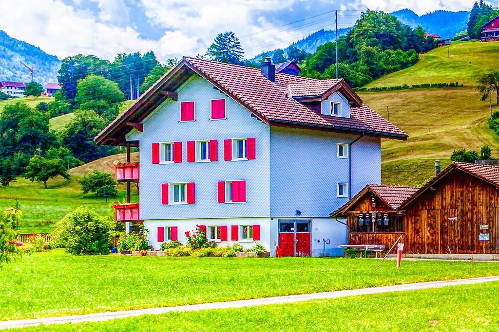 瑞士卢塞恩(Lucerne),创意民居_图1-28