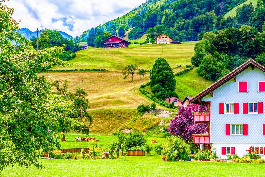 瑞士卢塞恩(Lucerne),创意民居_图1-16