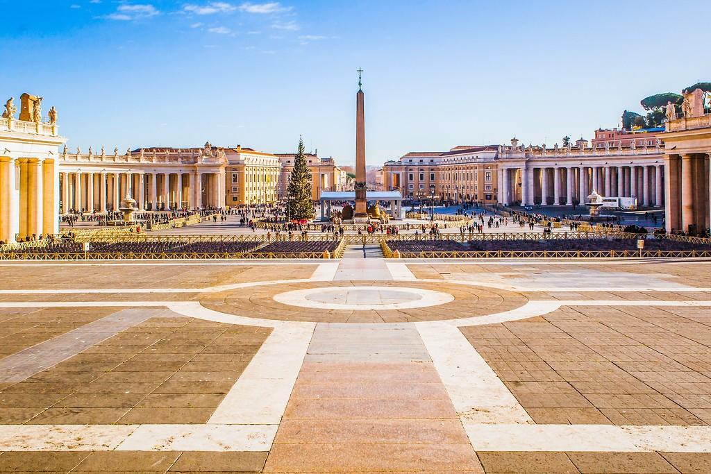 梵蒂冈圣伯多禄广场(St. Peter's Square),闻名天下_图1-18