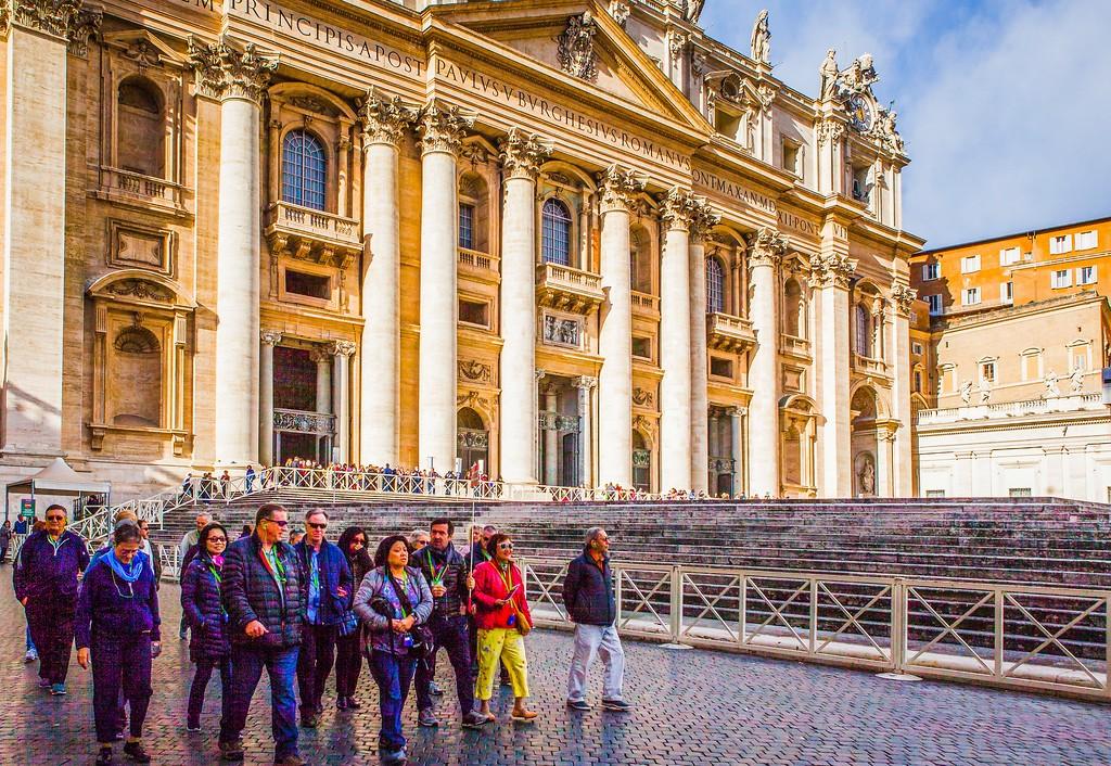 梵蒂冈圣伯多禄广场(St. Peter's Square),闻名天下_图1-20