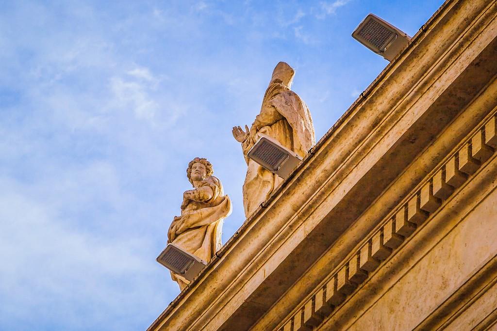 梵蒂冈圣伯多禄广场(St. Peter's Square),闻名天下_图1-17