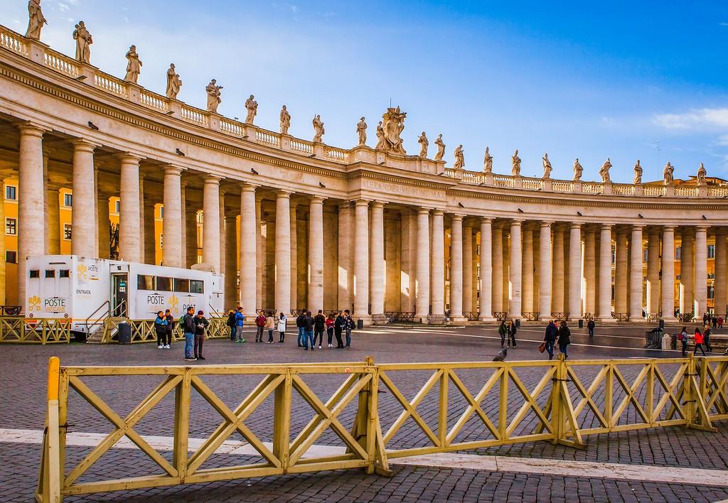 梵蒂冈圣伯多禄广场(St. Peter's Square),闻名天下_图1-13