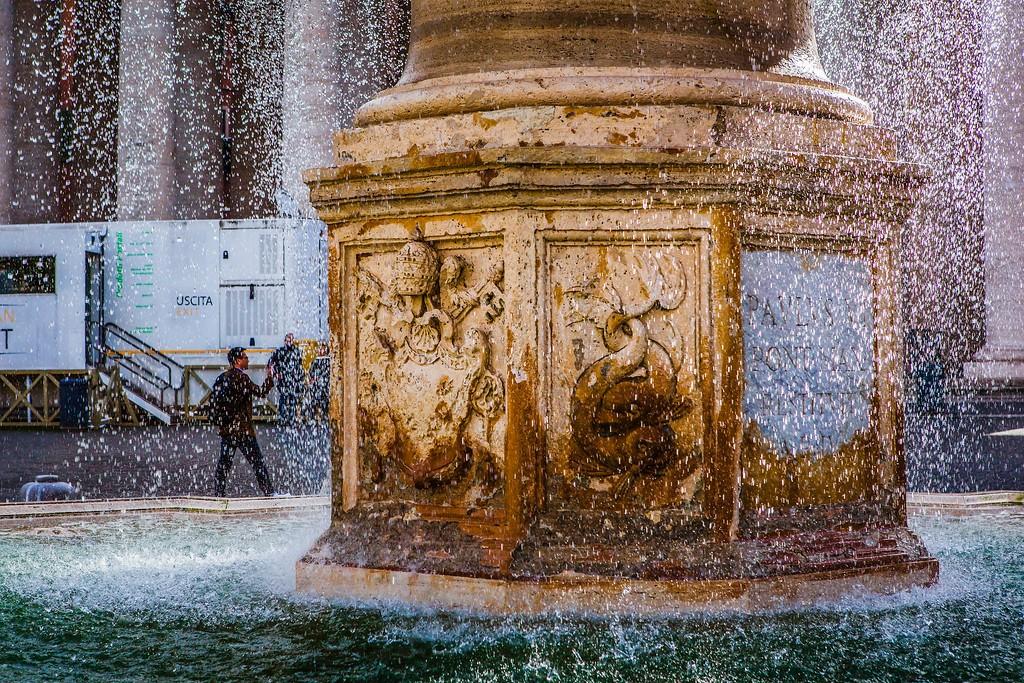 梵蒂冈圣伯多禄广场(St. Peter's Square),闻名天下_图1-14