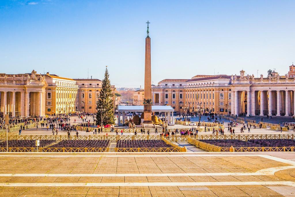 梵蒂冈圣伯多禄广场(St. Peter's Square),闻名天下_图1-12