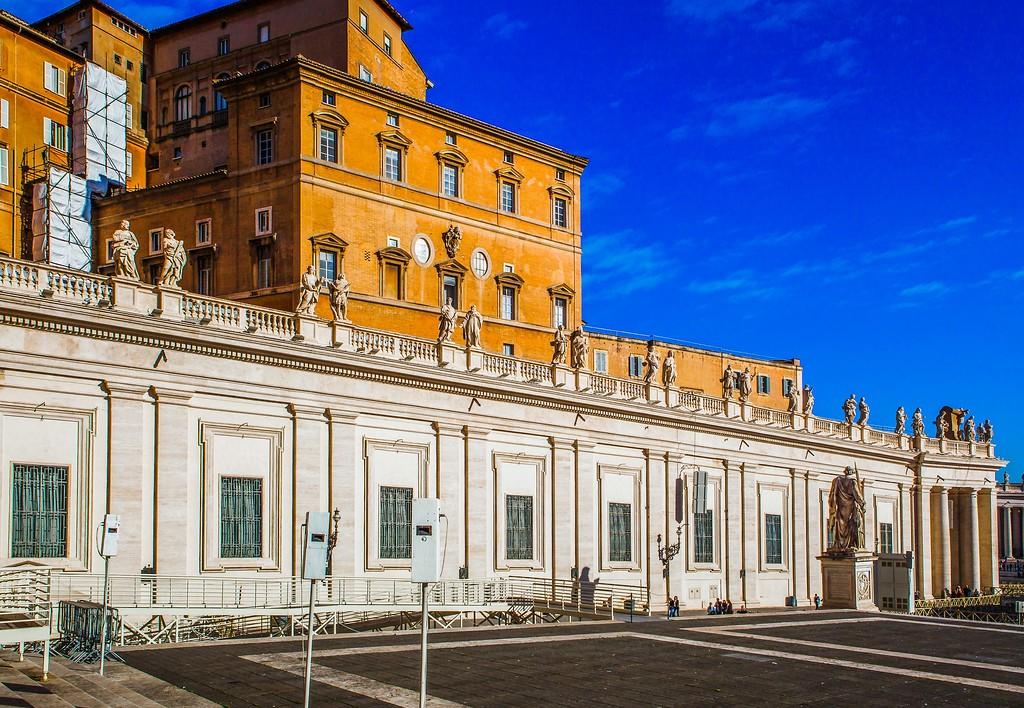 梵蒂冈圣伯多禄广场(St. Peter's Square),闻名天下_图1-15
