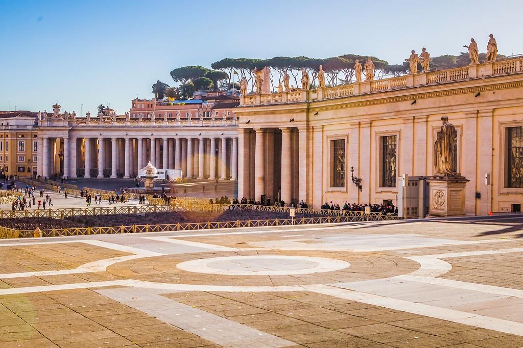 梵蒂冈圣伯多禄广场(St. Peter's Square),闻名天下_图1-16