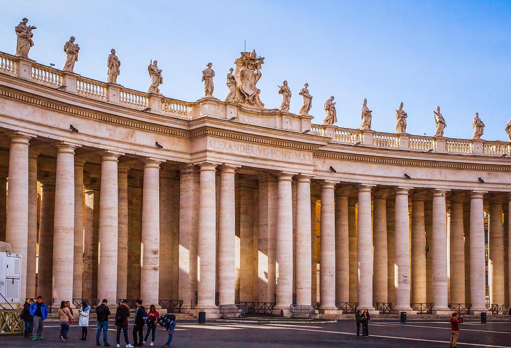 梵蒂冈圣伯多禄广场(St. Peter's Square),闻名天下_图1-11