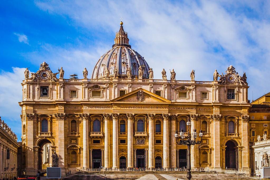 梵蒂冈圣伯多禄广场(St. Peter's Square),闻名天下_图1-10